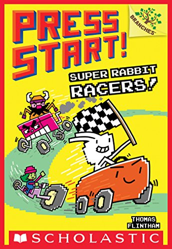 (Super Rabbit Racers!: A Branches Book (Press Start! #3))