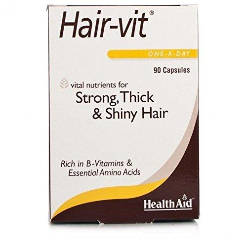 HealthAid Hair-Vit 90 Softgels [Health and Beauty]