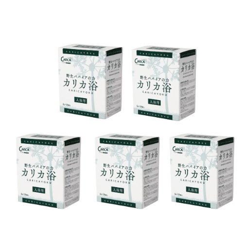 カリカ浴(4g x 10包) 5箱セット + おまけ(カリカ浴 5包付き) B00ISVG7OG