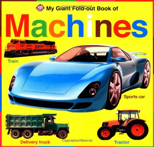 Download My Giant Fold-out Book of Machines PDF