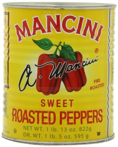 asted Peppers, 29-Ounce (Pack of 4) by Mancini ()