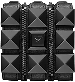 Karl Lagerfeld KL2001 Stainless Steel and Leather Women's Watch