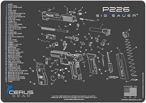 Charcoal Gray/Cerus Blue Cerus Gear Sig Sauer P226 Schematic ...