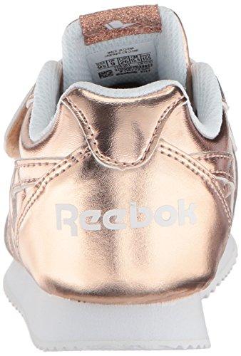 Reebok Royal CL Jogger 2 KC Unisex-Kinder Rose Gold Metallic/White