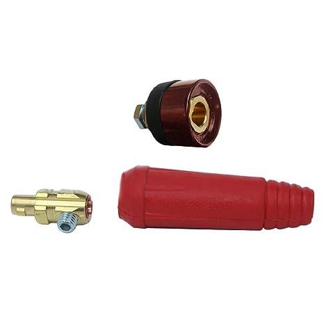 Tenflyer DKJ10-25 Cable Plug soldadura Conector macho