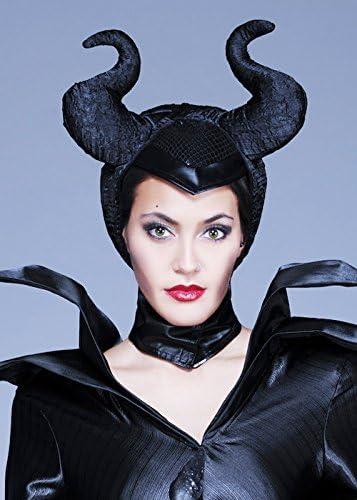 Fata malvagia Regina//Halloween//Malefica CORNO Fascia Costume Accessorio