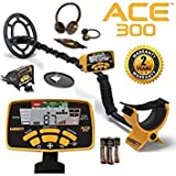 Garrett Ace 300 Metal Detector with Waterproof Coil Plus Free Accessories