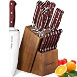 Best Knife Sets - Knife Set, Emojoy Knife Set with Block, Kitchen Review
