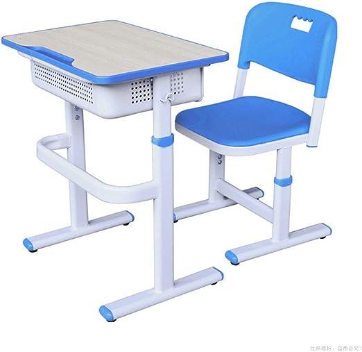 Set de escritorio y silla para niños Mesa de estudio para niños y ...