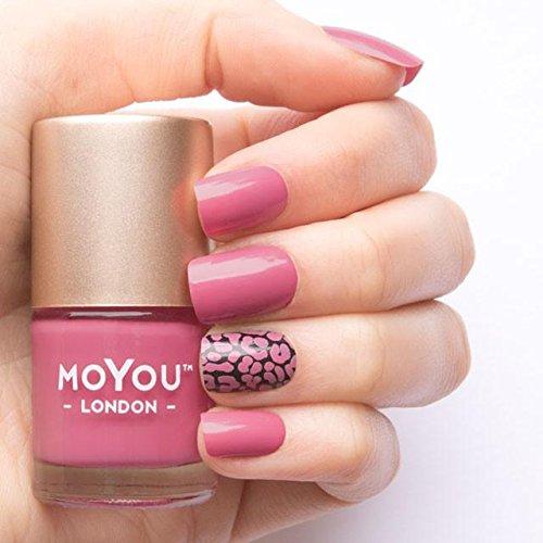 MoYou London Stamping Nail Lacquer - Sweet Lips Lip Polish Sweet