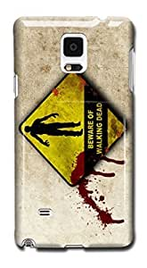 Tomhousomick Custom Design The Walking Dead Case for Samsung Galaxy Note 4 Phone Case Cover #101