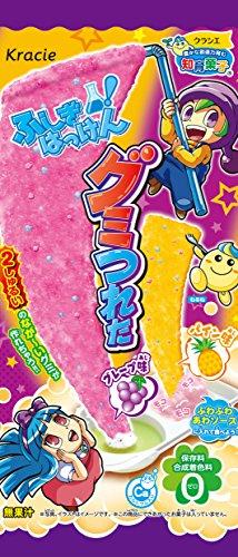 Kracie Popin' Cookin' Fushigi Hakken Gummy Tsureta DIY candy (Grape + Pineapple)
