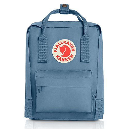 Blue Leather Ridge (Fjallraven - Kanken-Mini Classic Pack, Heritage and Responsibility Since 1960, Blue Ridge, One Size)