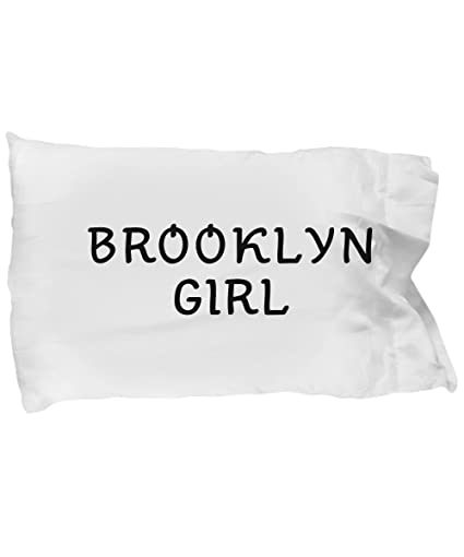 Amazon.com: Unique Gifts Store Brooklyn Girl - Pillow Case: Home ...