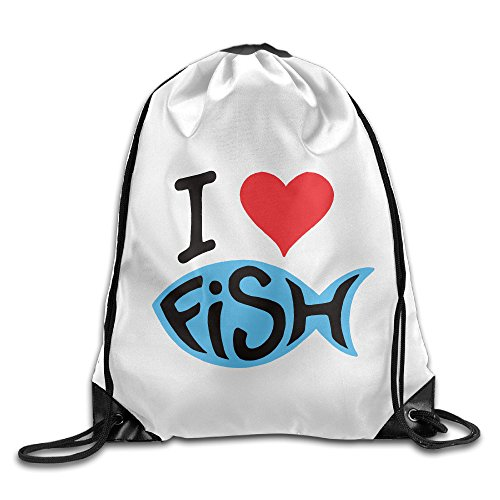 Price comparison product image Chocy I Love Fish Finding Fish Tennis White Backpack White