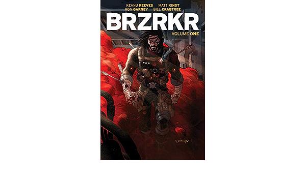 CGC 9.8 Graded PRESALE 10//14//20 KEANU REEVES! BERZERKER BRZRKR #1