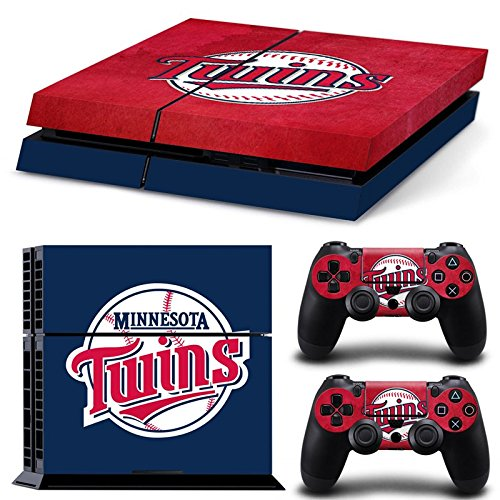 FriendlyTomato PS4 Console and DualShock 4 Controller Skin Set - MLB - PlayStation 4 Vinyl