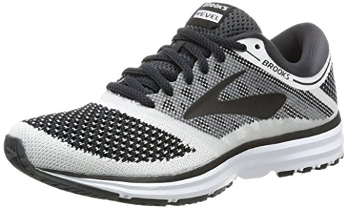 Brooks para color correr Zapatillas negro 1b155 mujer de antracita blanco gris 7qa1wU