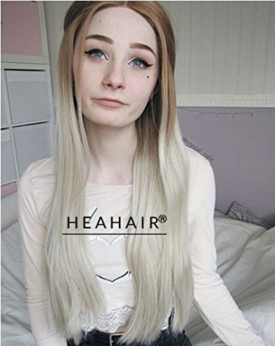 Heahair Handtied Colorful Fashion Synthetic Lace Front Wigs For Women (Ash Blonde) (Homemade Halloween Costumes Ideas 2015)