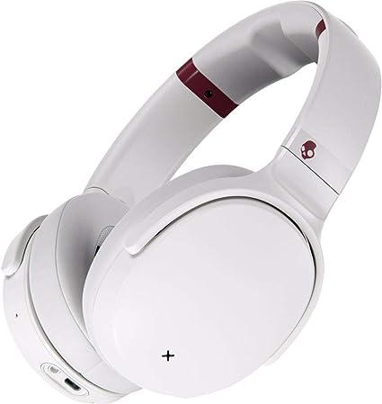 Amazon.com: Skullcandy Venue Wireless ANC Over-Ear Headphone - White/Crimson: Electronics