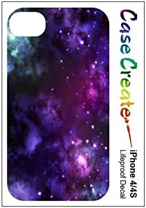 Nebula Galaxy Milky Way Decorative Sticker Decal for your iPhone 4 4S Lifeproof Case