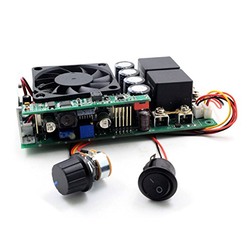 TOOGOO(R) 10-30V 100A 3000W Programable Reversible DC Motor Speed Controller PWM (Programable Controller)