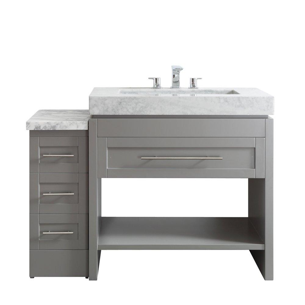 Vinnova 750048 gr ca nm bolzano single vanity set 48 grey amazon com
