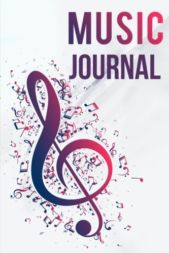 Music Journal: Lyric Diary and Manuscript Paper for Songwriters and Musicians. Manuscript Paper For Notes, Lyrics And Music. For Inspiration And ... Notebook Journal (Violet Theme) (Volume 1)
