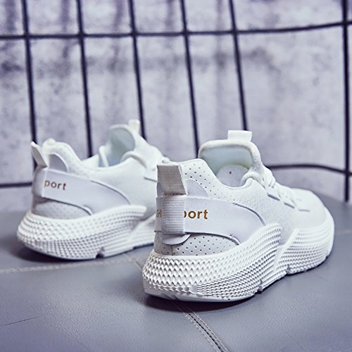 No Women's Sneakers Running Town Athletic Shoes White Flyknit 66 Walking Jogging Breathable rf1Erw