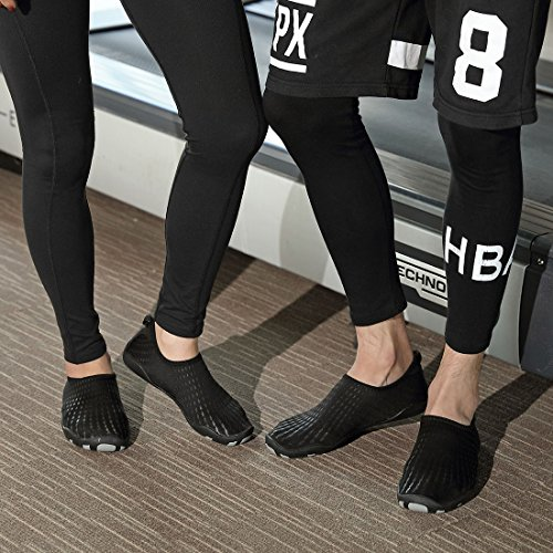 Men Beach Schuhchan Black Barefoot Women for Dry Quick Water Pool Aqua Surf Yoga Sports Shoes Bdwxdv
