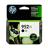 HP 952XL High Yield Black Original Ink Cartridge (F6U19AN#140)