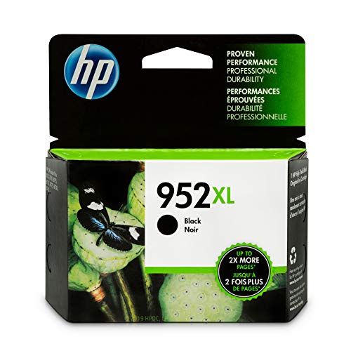 HP 952XL Black Ink Cartridge F6U19AN