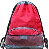ButterFox Waterproof Fabric Swim PE Gym Sports Bag Drawstring Sackpack Backpack for Kids, Men and Women