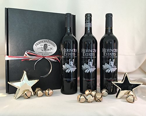 Heringer Estates 3 Bottle Red Wine Gift Box
