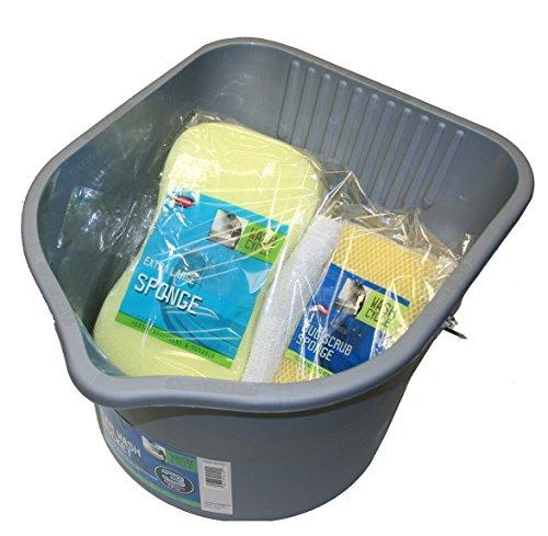 Carrand 94108VA Car Wash Bucket Kit (10 Piece)