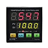 MYPIN® Universal Programmable Digital Adjustor PID F/C Thermostat Temperature Controller Control TA4-RNR, Powered by 90-265V AC/DC, Range: -1999 to 9999, Accuracy: 0.2% (CE APPROVED)
