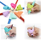 3PCS/Set Children Pencil Holder MMTOP Pen Writing Aid Grip Posture Correction Tool