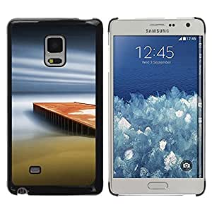 TopCaseStore / la caja del caucho duro de la cubierta de protección de la piel - Dream Pier - Samsung Galaxy Mega 5.8 9150 9152