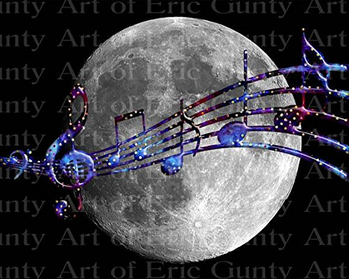 2-Round-Music-Band-Notes-Moon-Birthday-Edible-CakeCupcake-Party-Topper