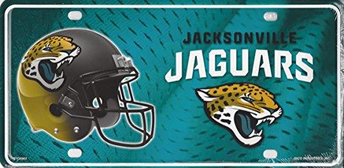 Jacksonville Jaguars Metal License Plate (Jacksonville Jaguars Plate)