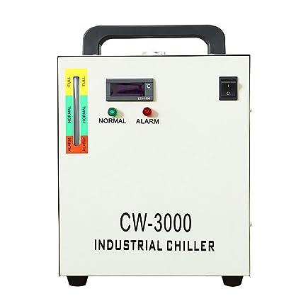 OUKANING oukani ng9l Industrial Agua Enfriador 50 W Water Chiller enfriamiento de Agua CW de 3000