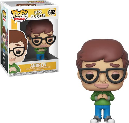 Funko Pop Television: Big Mouth-Andrew Collectible Figure, Multicolor 32168