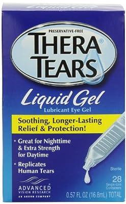 Thera Tears Thera Tears Liquid Gel, 0.57 fl.oz.,28-Count