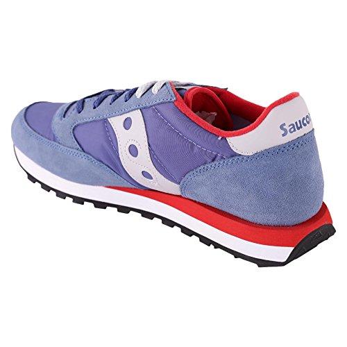 Saucony Jazz Originele Mannen Herren Sneakers Bleu-rosso