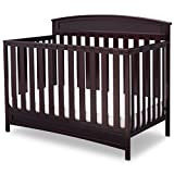 Cheap Delta Children Sutton 4-in-1 Convertible Baby Crib, Espresso Java