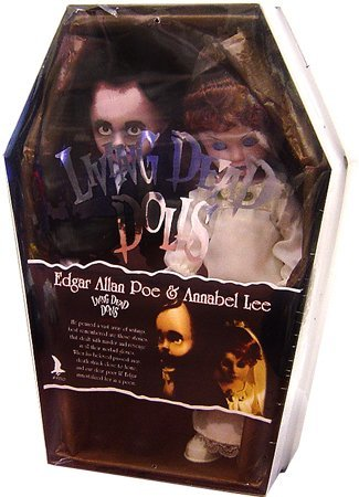 Living Dead Dolls Fashion - Living Dead Dolls Edgar Allan Poe and Annabel Lee Set