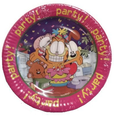 Garfield Party Party Party 8 Ct Dessert -