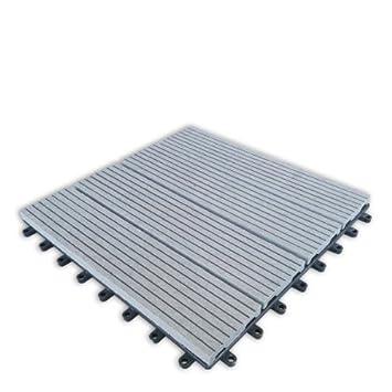 Build4eco   Century Outdoor Living DIY Outdoor Patio Deck Tile Interlocking  Decking Tile Composite Wood Deck