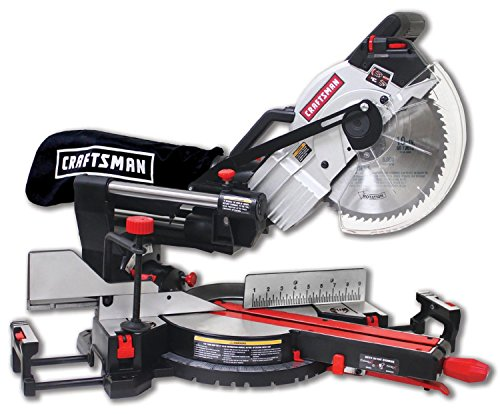 Craftsman 7 1/4'' Compact Sliding Compound Miter Saw