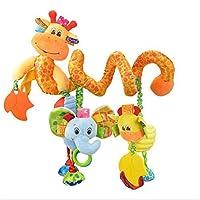 Dasuke bambino passeggino passeggino letto spirale attività giocattoli appesi (I)